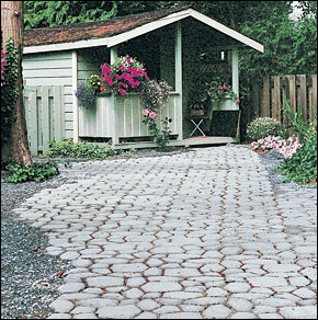 Garden Path Mold Pavement Slab Molds 60x60 Cm Paving